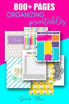 800+ Free Printables