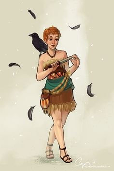 Trickster's Choice by CPatten on DeviantArt, Aly from the Trickster's series by Tamora Pierce
