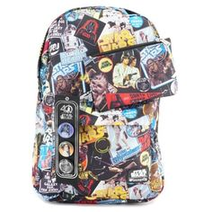Loungefly x Star Wars limited edition 40th Anniversary backpack and pencil case at Celebration Orlando ⭐️ Star Wars fashion ⭐️ Geek Fashion ⭐️ Star Wars Style ⭐️ Geek Chic ⭐️