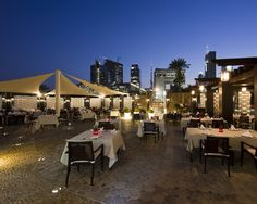 Jumeirah Emirates Towers Hotel - Dubai Restaurants - Al Nafoorah Terrace - Arabic
