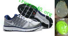 Mens Nike LunarElite+ 2 Grey White Blue Shoes