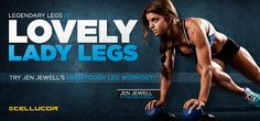Many women welcome winter as a reason to hide their legs beneath layers of clothes. Try this awesome leg workout from Jen Jewell and you'll be showing them off in no time! --Lovely Lady Legs: Jen Jewell's Leg-Sculpting Workout.