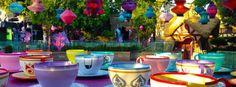 Teacups :) - Disneyland
