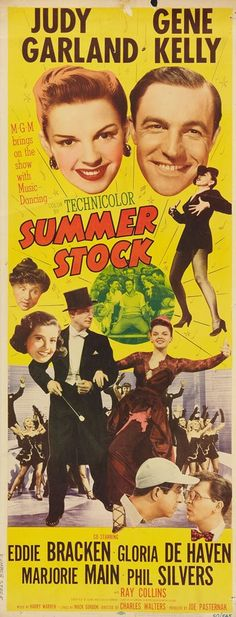 "Summer Stock- ""Forget your troubles Come on get happy You better chase all you cares away Shout hallelujah Come on get happy Get ready for the judgment day"""