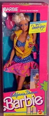 California Deamin' Barbie. I had this and her BFF Midge. I also had the hot dog stand.