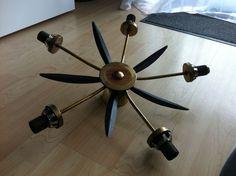 Vintage Ceiling Lamp Sputnik Lamp Mid Century beautiful Decoration