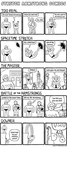 Stretch Armstrong Comics