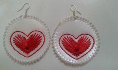 #love Jewelery, Crochet Earrings, Pets, Bottle, Handmade, Jewelry, Flask, Jewlery, Jewels