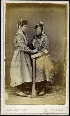 women workers iron works Tredegar 1860s 3