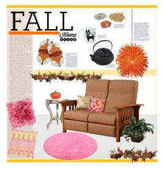 """fall"" by soyance ❤ liked on Polyvore featuring interior, interiors, interior design, home, home decor, interior decorating, Nicki Minaj, Nearly Natural, TOM TAILOR and DutchCrafters"