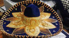 PRECIOSO SOMBRERO MEXICANO BORDADO A MANO (Artesanía - otros articulos hechos a mano)
