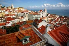 Lisbon, Portugal.  Reminded me of San Francisco with the seven hills, a big red bridge...