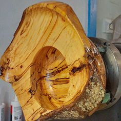 Lathe Projects, Wood Turning Projects, Wood Projects, Wood Crafts, Diy And Crafts, Bowl Turning, Turned Wood, Bowl Designs, Wood Lathe