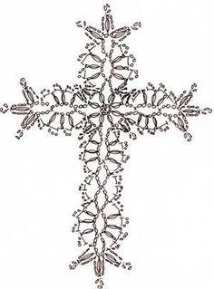 Free Crochet Cross Applique Chart