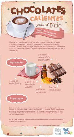 Chocolates calientes para el frío | Ideas para compartir | Nestlé Contigo