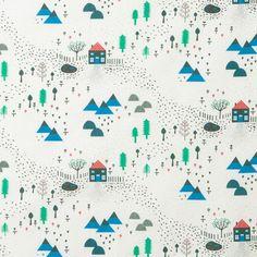Donna Wilson - Mountain Home Lightweight Cotton (white)