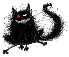 The Black Cat by ~Locke-n-Kei