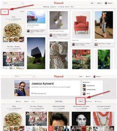 Pinterest reemplaza los botones de Actividad por una nueva sección de Noticias