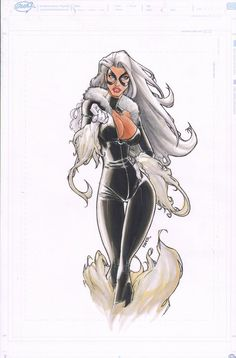 Black Cat by Humberto Ramos