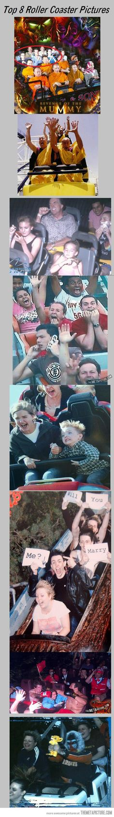 Creative roller coaster pictures… haha these are great! The Last One!!!!!!
