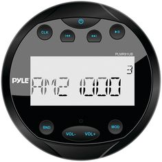 "Pyle Hydra Series 4"" Marine Mechless Digital Media Am And Fm Receiver With Bluetooth (black)"