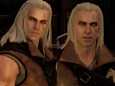 An incredibly young and pretty Geralt [[ Totally lore breaking ]] Now with Younger Geralt version Compatible with Blood and Wine DLC & Patch GOTY Edition The Witcher Books, The Witcher Game, The Witcher Geralt, Witcher Art, Ciri, Weird Creatures, Mythical Creatures, Dragon Wolf, Wolf Warriors