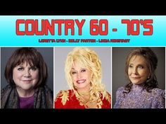 Best Female Country Songs 60's,70's♪ღ♫Country Music Best Songs Ever - YouTube