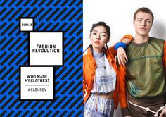 Fashion Revolution Day 2015 is coming. Are you ready for it? www.justaplatform.com/carry-somers-fashion-revolution-day #ethicalfashion #FashRev