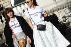 Bloggers? No way. #lfw #fashionweek