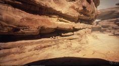 ArtStation - Desert Planet, Kevin Whitmeyer
