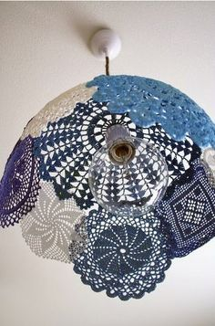 DIY: Lámpara a Crochet Paso 5