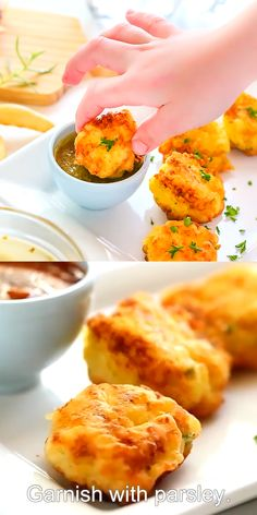 These delicious Spanish cod fritters are so easy to make with this step by step video recipe. Spanish Appetizers, Yummy Appetizers, Appetizer Recipes, Cod Fritters Recipe, Potato Fritters, Cod Fish Recipes, Tapas Recipes, Yummy Recipes, Spanish Food