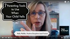 7 Parenting Tools to Use When Your Child Yells Instagram Accounts, Instagram Posts, Positive Discipline, Your Child, Things To Think About, Parenting, Positivity, Children, Young Children
