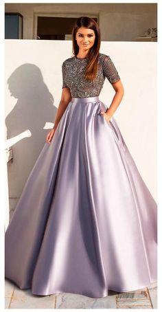 Party Wear Indian Dresses, Designer Party Wear Dresses, Indian Gowns Dresses, Indian Bridal Outfits, Dress Indian Style, Indian Fashion Dresses, Ball Dresses, Gowns For Party, Purple Wedding Dresses