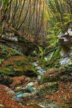 Valle dell'Orfento   Parco Nazionale della Maiella Abruzzo  Italy