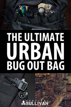 If you're an urban prepper, we tell you exactly how to assemble your urban bug out bag: what backpack to get, the gear list, and lots of tips! #urban #survival #bugoutbag