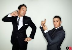 GQ Men of the Year 2011: Justin Timberlake and Jimmy Fallon: Men of the Year: GQ. these guys are so hilarious