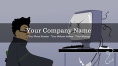 COMPUTER REPAIR COMPANY - - YouTube Channel Cover Art   VISIT OUR GALLERY http://landingclients.com/VideoAds/youtube-channel-graphics/