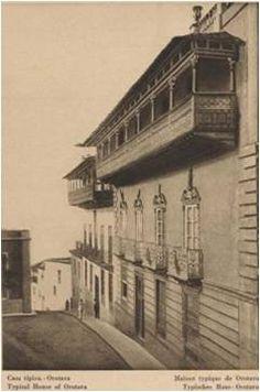 Casa de Los Balcones, La Orotava. Tenerife.