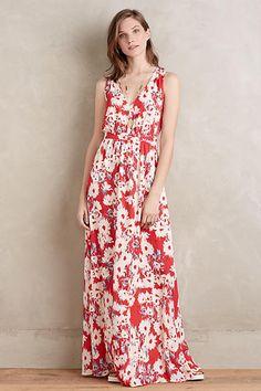 Paper Crown Marguerite Maxi Dress