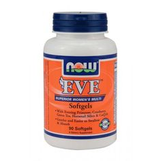 NOW EVE Womans Multi Vitamin 90softgels | Familypharmacy.gr Multi Vitamin, Eve, Vitamins, Foods, Women, Food Food, Food Items, Women's, Woman