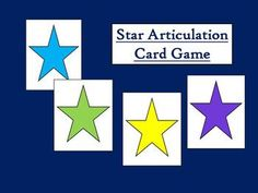 Articulation card game for TH, L, S Blends, CH, SH, K, G, & R