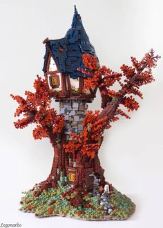 Medieval LEGO Homes Inspired by The Lord Of The Rings and Other Fantasy Worlds