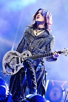 Sugizo. X JAPAN. Madison Square Garden.