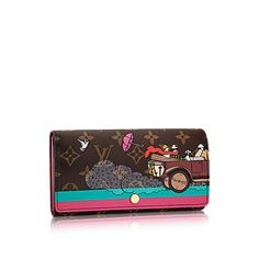 Sarah Wallet Evasion - Monogram Canvas - Small Leather Goods  cf5c81cab1b71
