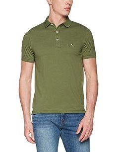 f6f18f97c Polo Ralph Lauren Men · Tommy Hilfiger Dark-Green Rugby Polo (XL)  fashion   shirts Fashion Shirts