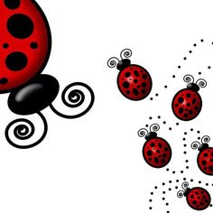 Ladybugs Lady Bug Tattoo, Scrapbook Images, Baby Ladybug, Dibujos Cute, Wooden Hangers, Binder Covers, Love Bugs, Clipart, Doodle Art