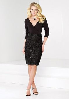 Social Occasions by Mon Cheri 215806 Mother Of The Bride Dress - The Knot
