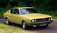 1970 Audi 100 Coupé S Bugatti, Lamborghini, Audi 200, Porsche, Automobile, Vw Group, Yellow Car, Cabriolet, Audi Cars