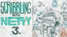 KITTENS & PRINCESSES (and some weird stuff) - Scribbling with Netty (3)